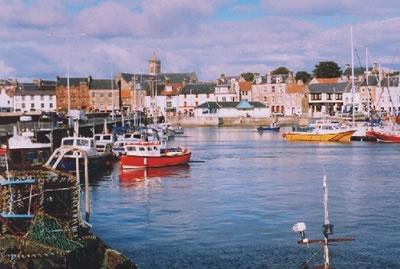 Fife Coastal village